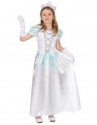 Witte prinsessen outfit voor meisjes