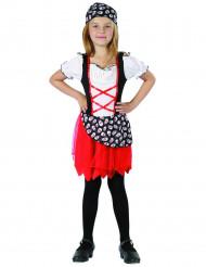 Zeerover kostuum voor meisjes