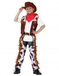 Far West cowboy kostuum voor kinderen