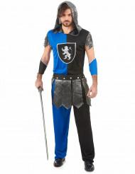 Blauwe ridder outfit voor heren