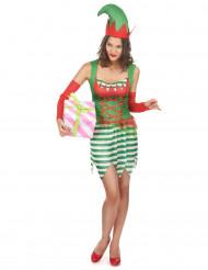 Groen elfen kostuum voor vrouwen