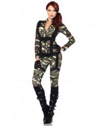 Sexy militairen kostuum voor vrouwen