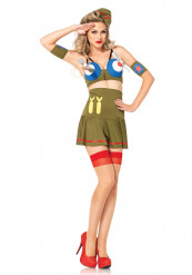 Piloten kostuum Jaren 40 voor dames