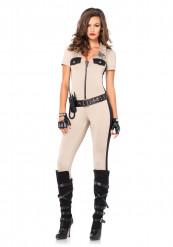 Politievrouw kostuum voor dames