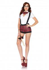 Sexy schoolmeisje kostuum voor vrouwen
