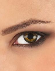 Gouden contactlenzen