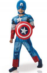 Luxe Captain America™ Avengers™ kostuum voor jongens