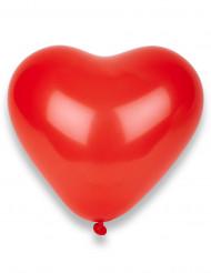 Set van 50 hartjes ballonnen rood