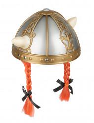 Gallische helm met vlechten voor kinderen