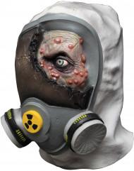 Vergiftigde zombie masker voor volwassenen