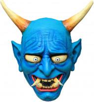Blauw Oni duivelsmasker