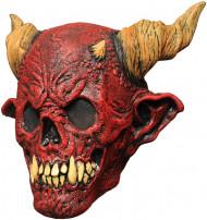 Rode skelet masker voor volwassenen