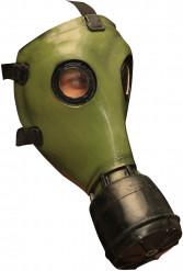 Groen gasmasker voor volwassenen