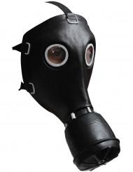 Zwart gasmasker voor volwassenen
