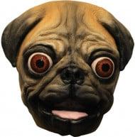 Honden pug masker voor volwassenen