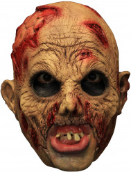 3/4 zombie masker met gebit voor volwassenen