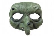 Half masker groene heks