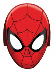 8 kartonnen Spiderman™ maskers
