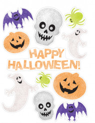 Happy Halloween raamstickers