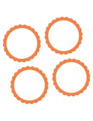 20 oranje stickers
