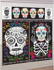 5 posters van het Mexicaanse doden festival