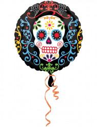 Folie ballon Dia de los Muertos