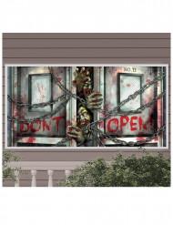 Zombie banier decoratie