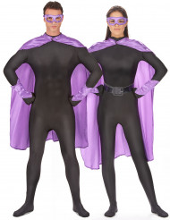 Superhelden cape en masker voor volwassenen