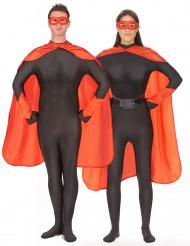 Rode superheld set voor volwassenen