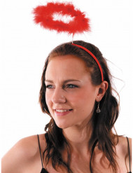 Rode engel of duivel halo voor volwassenen