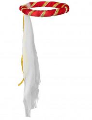 Rode middeleeuwse haarband voor meisjes