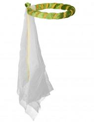 Groene middeleeuwse haarband voor meisjes