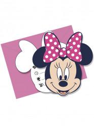 Set van uitnodigingen en enveloppen Minnie™