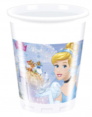 8 Plastic wegwerp bekertjes Assepoester ™