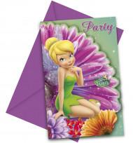 Set van uitnodigingen en enveloppen van Tinkerbell™