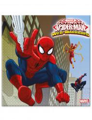 Set van papieren servetten van Spiderman™