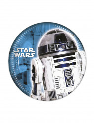 8 kartonnen Star Wars ™ bordjes