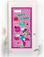 Roze Minnie™ deurversiering