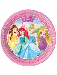 8 Disney Prinses™ borden 23 cm