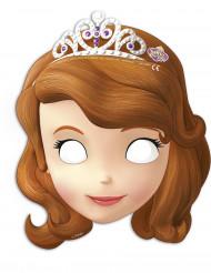 6 kartonnen Sofia het Prinsesje™ maskers