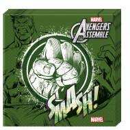 20 groene Avengers™ servetten