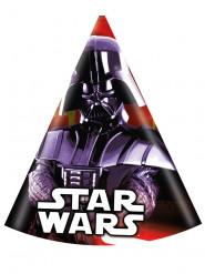 6 feest hoedjes Darth Vader - Star Wars™