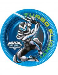 8 Max Steel™ borden 23 cm