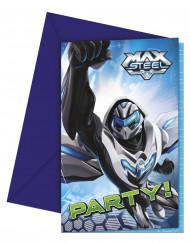 Set Max Steel™ uitnodigingen