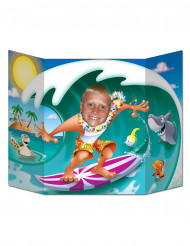 Hawaiiaanse fotoposter photobooth