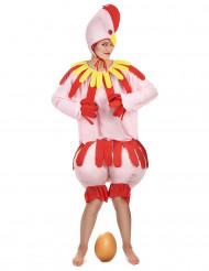 Kippen kostuum voor volwassenen