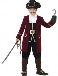 Rood piraten kapitein pak voor jongens