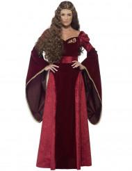 Middeleeuwse koninginnen outfit voor vrouwen