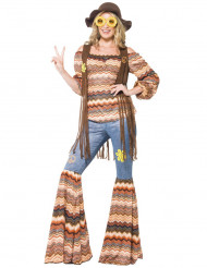 Hippie harmonie verkleed pak voor vrouwen