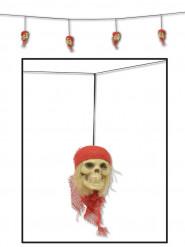 Piraten doodskoppen slinger
